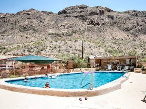 Texas Big Bend Resort Swimming Pool
