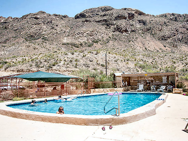 A Texas Big Bend resort with Swimming Pool, Showers ...