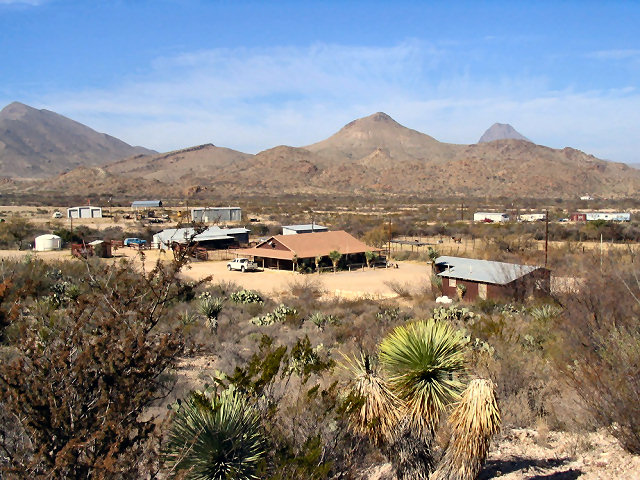 Christmas Mountain.Terlingua Ranch Lodge Is The Gateway To The Christmas