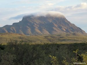Big Bend Whitehouse Mountain View
