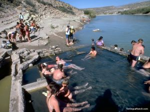 Terlingua TX Inns Swimming