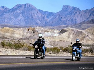 Motorcycling Big Bend Texas