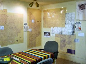 Terlingua Ranch POATRI Map Room