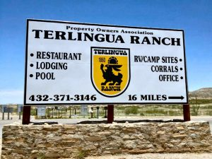 Terlingua Ranch Sign