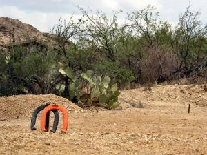 Terlingua Texas Activities: Horseshoes