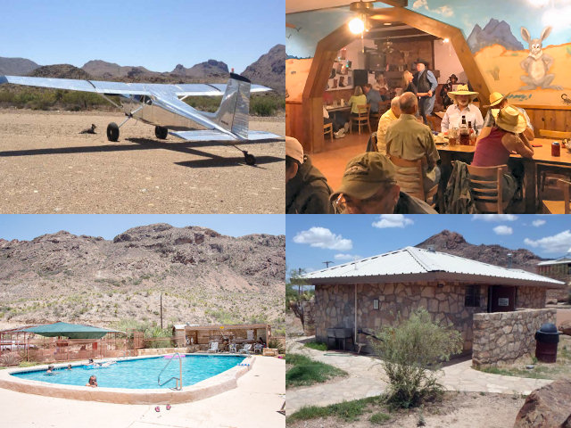 Big Bend Airfield Cafe Swimming Pool Showers Bathhouse