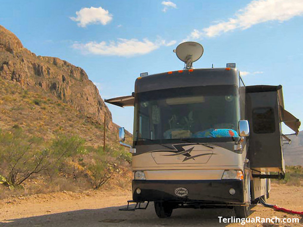 Big Bend RV Parks: The RV Park at Terlingua Ranch Lodge Resort