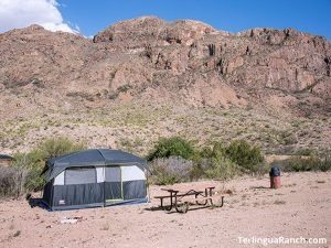 Terlingua Tent Campgrounds