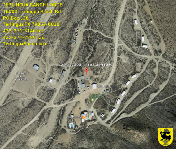 Terlingua Ranch Lodge Map