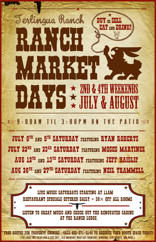 Terlingua Ranch Market Days