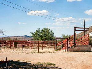 Terlingua Texas Horse Stable Corral Pen Paddocks Loading Chute
